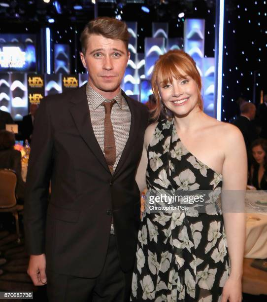 Actors Garrett Hedlund and Bryce Dallas Howard attend the 21st Annual Hollywood Film Awards at The Beverly Hilton Hotel on November 5 2017 in Beverly...