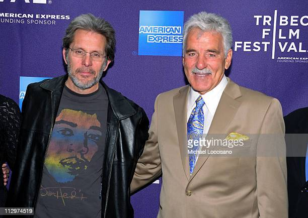 Actors Gary Cole and Dennis Farina attend the premiere of 'The Last Rites of Joe May' during the 2011 Tribeca Film Festival at Clearview Cinemas on...