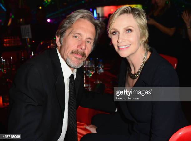 Actors Gary Cole and Jane Lynch attend the Governors Ball during the 2014 Creative Arts Emmy Awards at Nokia Theatre L.A. Live on August 16, 2014 in...