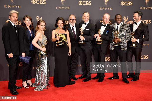 Actors Gary Cole Clea DuVall Anna Chlumsky Julia LouisDreyfus Kevin Dunn Tony Hale Matt Walsh Sam Richardson and Reid Scott cast members of the...
