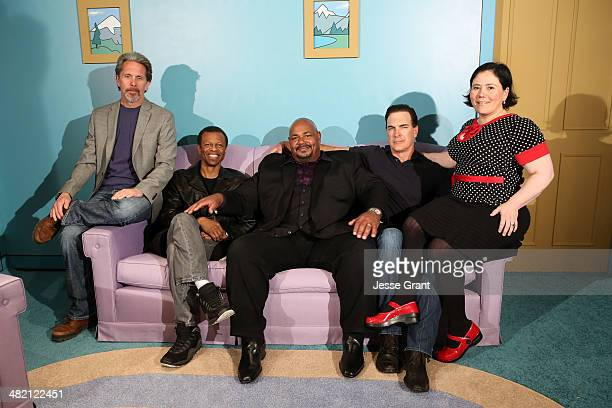 Actors Gary Cole Phil LaMarr Kevin Michael Richardson Patrick Warburton and Alex Borstein attend the FAMILY GUY The Quest For Stuff Los Angeles...