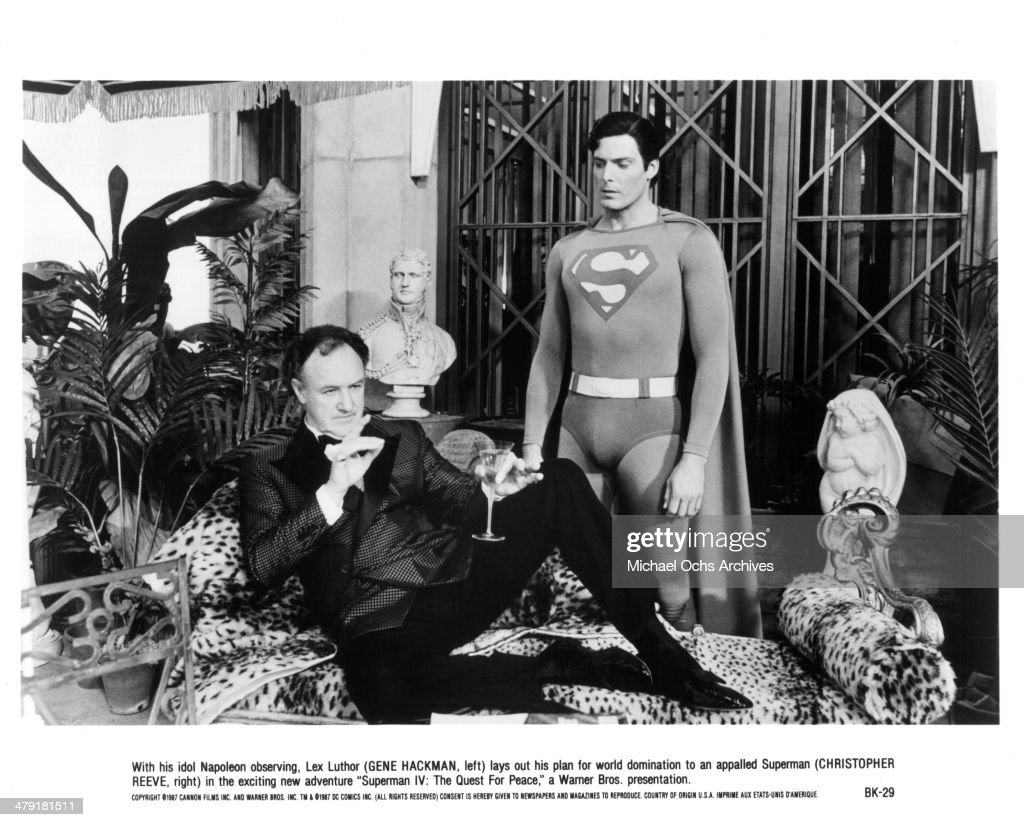 Superman IV: The Quest for Peace : News Photo