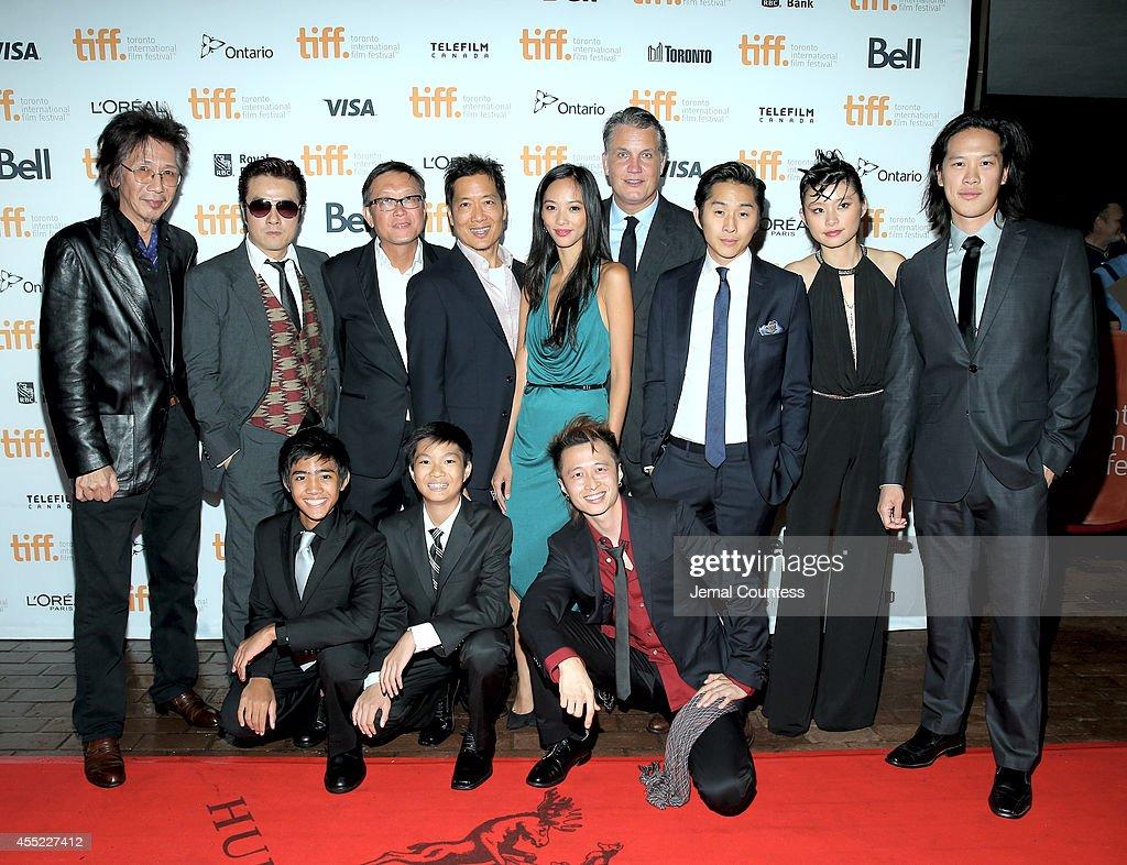"""Revenge Of The Green Dragons"" Premiere - 2014 Toronto International Film Festival : Nachrichtenfoto"