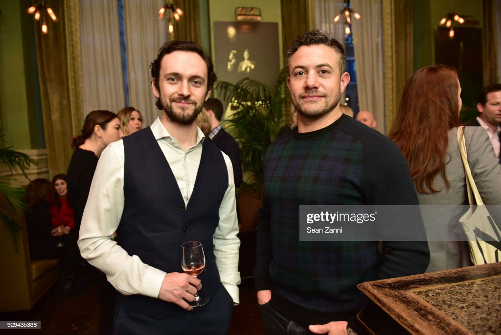 Actors George Blagden and Warren Brown attend as Ovation TV