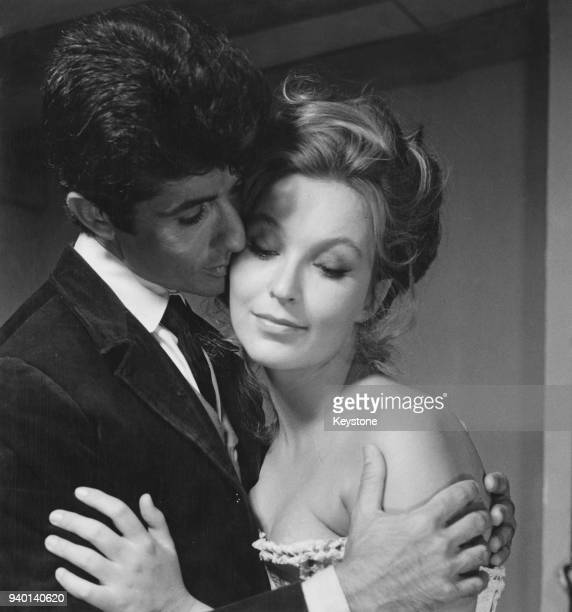 Actors George Chakiris and Marina Vlady star in the film 'Il ladro della Gioconda' directed by Michel Deville Italy 31st August 1965