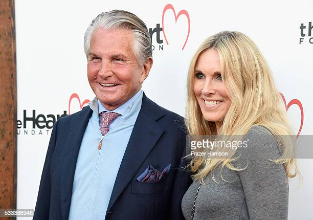 Actors George Hamilton and Alana Stewart attend The Heart Foundation 20th Anniversary Event honoring Discovery Land Company's Mike Meldman at the...