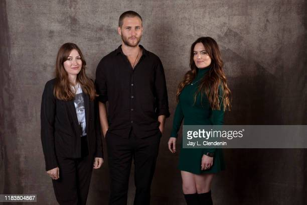 Actors George Mason, Kelly MacDonald and Julia Stone from 'Dirt Music' are photographed for Los Angeles Times on September 9, 2019 at the Toronto...
