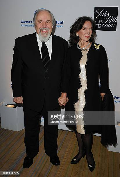 Actors George Schlatter and Jolene Brand arrive at the 14th annual Unforgettable Evening benefiting EIF's WCRF held at Beverly Wilshire Four Seasons...