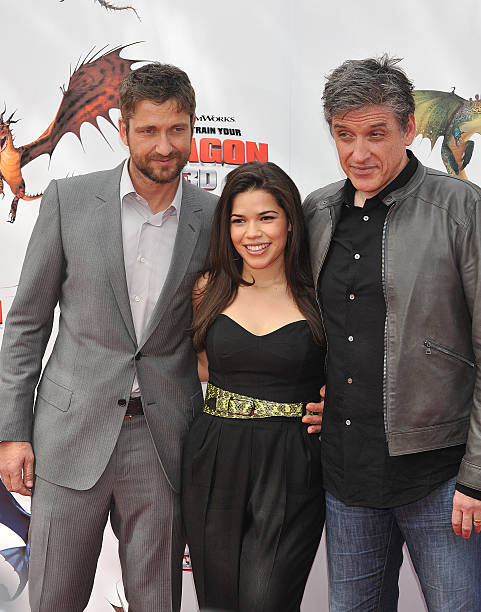 Usa how to train your dragon premiere in los angeles pictures actors gerard butler america ferrera and craig ferguson attend the premiere of how to ccuart Image collections