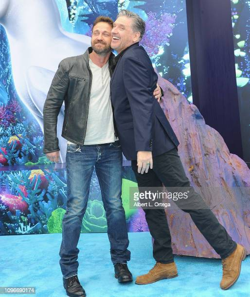 """Actors Gerard Butler and Craig Ferguson arrive for Universal Pictures and DreamWorks Animation premiere of """"How To Train Your Dragon: The Hidden..."""