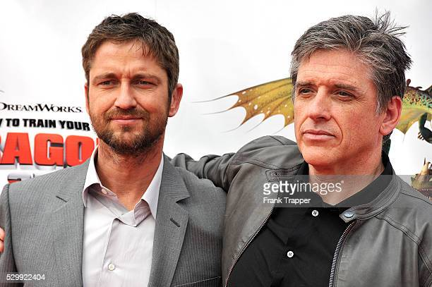 How to train your dragon actors stock photos and pictures getty images actors gerard butler and craig ferguson attend the premiere of how to train your dragon ccuart Image collections