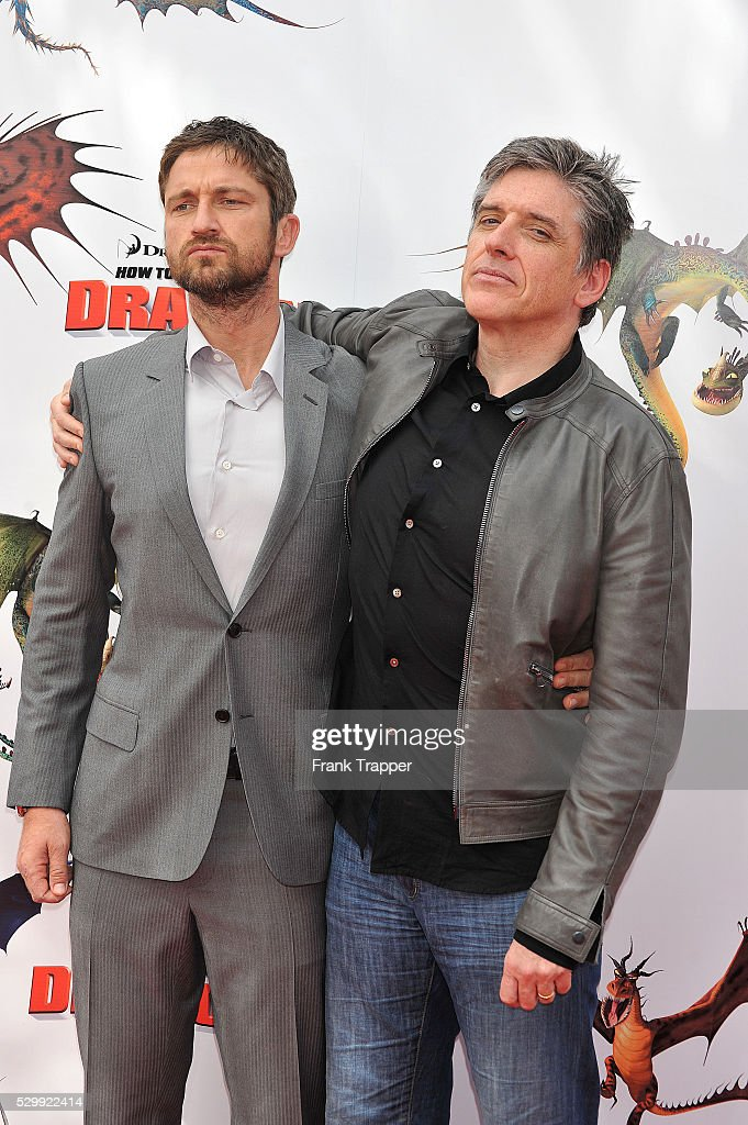 Usa how to train your dragon premiere in los angeles pictures actors gerard butler and craig ferguson attend the premiere of how to train your dragon ccuart Image collections