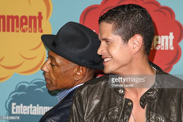 Actors Giancarlo Esposito and JD Pardo arrive at Entertainment Weekly's annual ComicCon celebration at Float at Hard Rock Hotel San Diego on July 20...