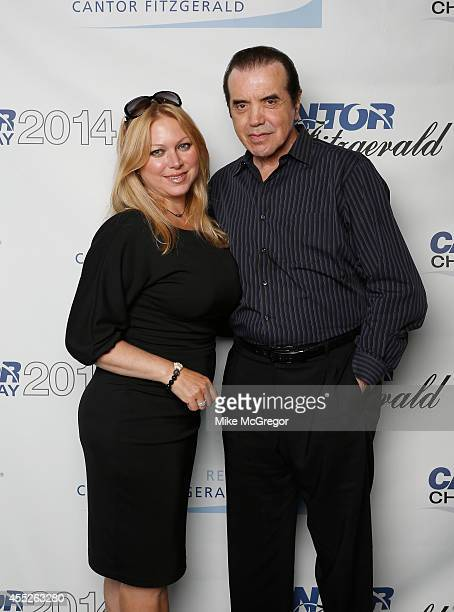 Actors Gianna Palminteri and Chazz Palminteri attend Annual Charity Day Hosted By Cantor Fitzgerald And BGC at Cantor Fitzgerald on September 11 2014...