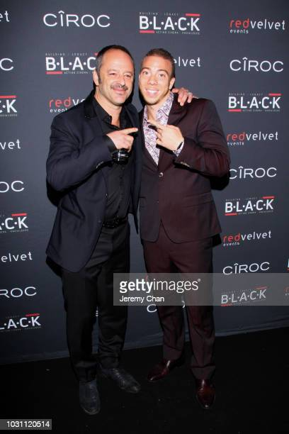 Actors Gil Bellows and Matt Murray attend Stephan James And Shamier Anderson Host Third Annual BLACK Ball at TIFF Bell Lightbox on September 10 2018...