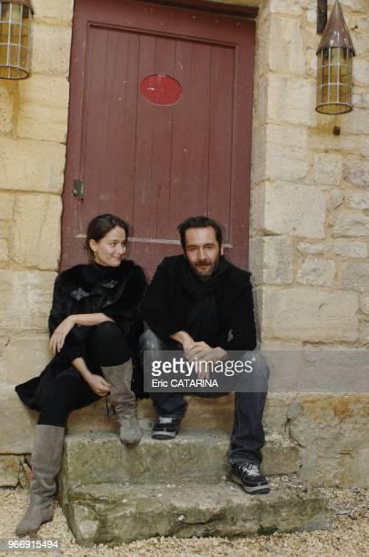 Actors Gilles Lellouche and actress Marie Gillain.