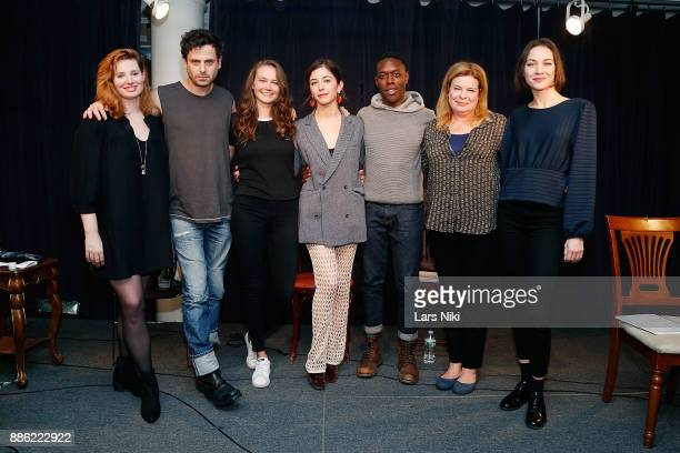 Actors Gillian Williams Luke Kirby Andi Matichak writer and director Annabelle Attanasio actors Ronald Peet Catherine Curtin and Sydney Lemmon on...