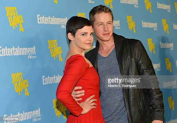 Actors Ginnifer Goodwin and Josh Dallas attend Entertainment Weekly's 6th Annual ComicCon Celebration sponsored by Just Dance 4 held at the Hard Rock...