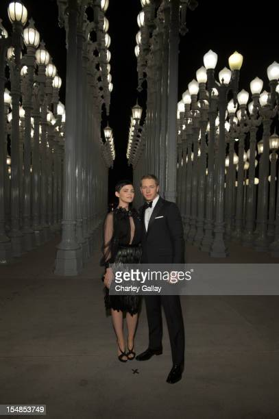 Actors Ginnifer Goodwin and Josh Dallas attend LACMA 2012 Art Film Gala Honoring Ed Ruscha and Stanley Kubrick presented by Gucci at LACMA on October...