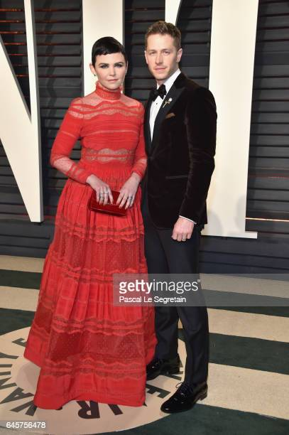 Actors Ginnifer Goodwin and Josh Dallas attend the 2017 Vanity Fair Oscar Party hosted by Graydon Carter at Wallis Annenberg Center for the...