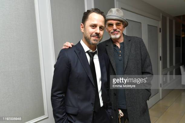 """Actors Giovanni Ribisi and Billy Bob Thornton attend the special screening of Momentum Pictures' """"A Million Little Pieces"""" at The London Hotel on..."""