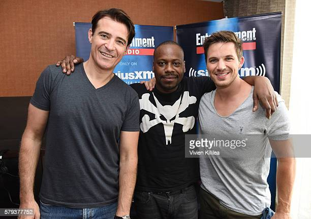 Actors Goran Visnjic Malcolm Barrett and Matt Lanter attend SiriusXM's Entertainment Weekly Radio Channel Broadcasts From ComicCon 2016 at Hard Rock...