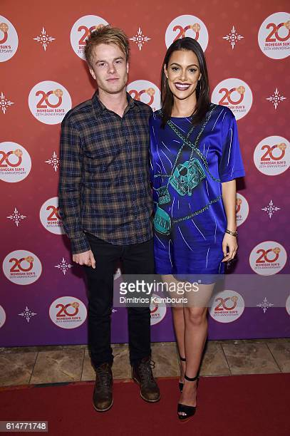 Actors Graham Rogers and Anabelle Acosta walk the red carpet before the Kevin Hart Official After Party with DJ Ruckus for Mohegan Sun's 20th...