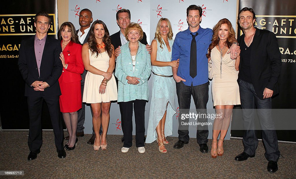 """SAG-AFTRA Presents A Panel Discussion With The Cast Of """"The Young And The Restless"""" - Arrivals"""