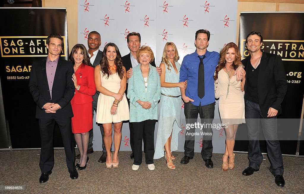 """SAG-AFTRA Presents A Panel Discussion With The Cast Of """"The Young And The Restless"""""""