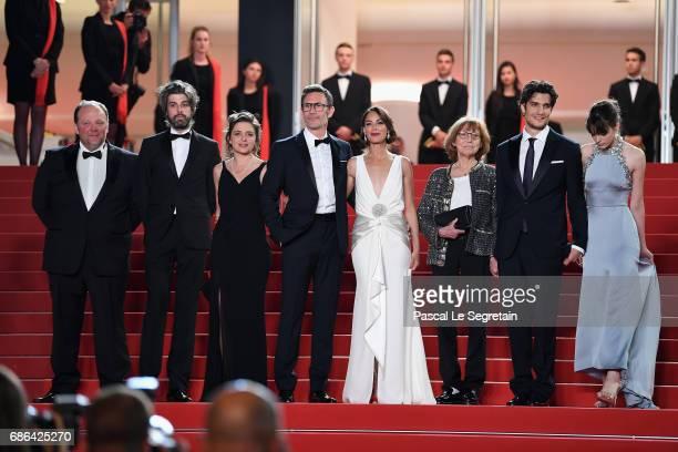 Actors Gregory Gadebois Misha Lescot producer Florence Gastaud director Michel Hazanavicius actors Berenice Bejo Anne Wiazemsky Louis Garrel and...