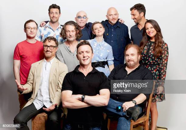 Actors Griffin Newman Brendan Hines executive producers Barry Josephson Ben Edlund actors Jackie Earle Haley Peter Serafinowicz Valorie Curry Michael...