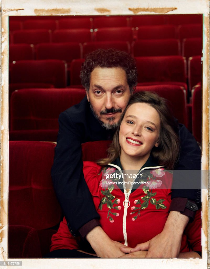 Guillaume Gallienne and Adeline d'Hermy, Madame Figaro, August 18, 2017