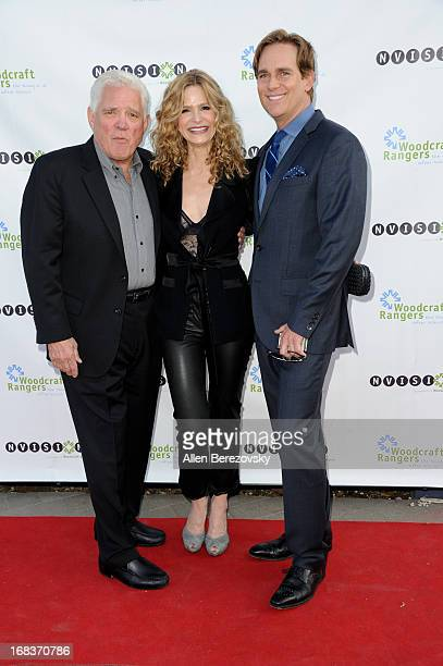 Actors GW Bailey Kyra Sedgwick and Phillip P Keene attend the Woodcraft Rangers 90th Anniversary Gala hosted by Kyra Sedgwick at LA Plaza de Cultura...