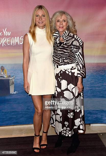 Actors Gwyneth Paltrow and Blythe Danner attend the Los Angeles special screening of Bleecker Street's I'll See You In My Dreams at The London...