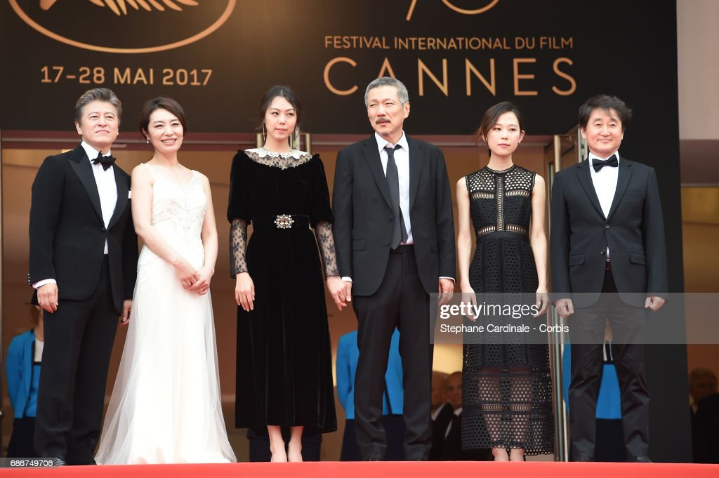 """""""The Day After """" Red Carpet Arrivals - The 70th Annual Cannes Film Festival"""