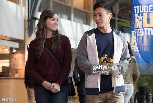 Actors Hailee Steinfeld and Hayden Szeto in a scene from the film 'The Edge of Seventeen' 2016