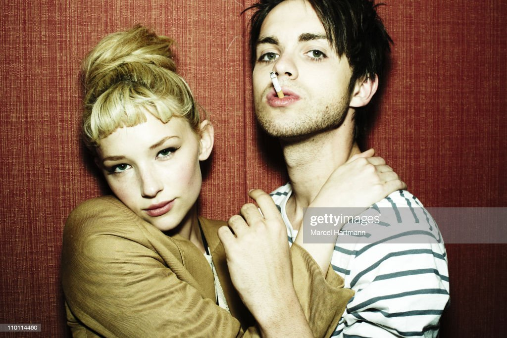 Haley Bennett and Thomas Dekker, Studio Cine Live, May 2010