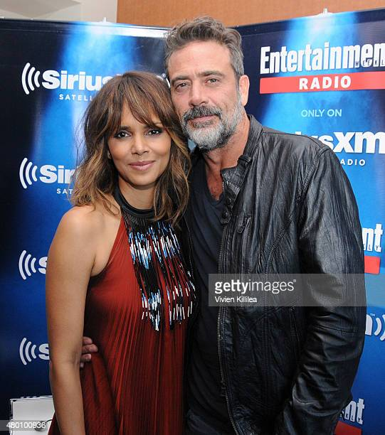 Actors Halle Berry and Jeffrey Dean Morgan attend SiriusXM's Entertainment Weekly Radio Channel Broadcasts From ComicCon 2015 at Hard Rock Hotel San...
