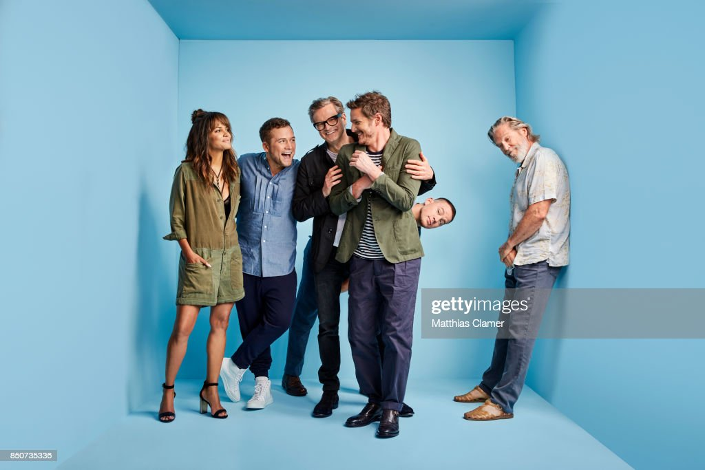 Actors Halle Berry, Taron Egerton, Colin Firth, Pedro Pascal, Channing Tatum and Jeff Bridges from Kingsman: The Golden Circle are photographed for Entertainment Weekly Magazine on July 20, 2017 at Comic Con in San Diego, California. PUBLISHED