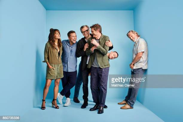 Actors Halle Berry Taron Egerton Colin Firth Pedro Pascal Channing Tatum and Jeff Bridges from Kingsman The Golden Circle are photographed for...