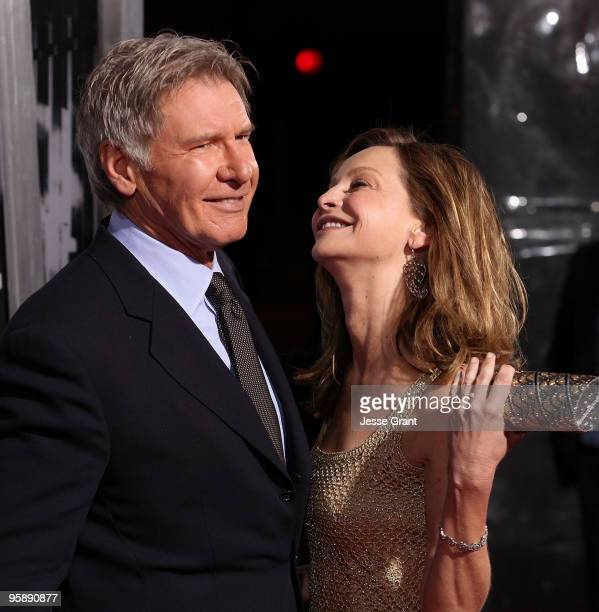 Actors Harrison Ford and Calista Flockhart arrive to the 'Extraordinary Measures' Los Angeles Premiere at Grauman's Chinese Theatre on January 19...