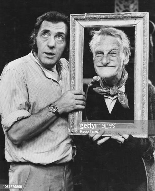 Actors Harry H Corbett and Wilfrid Brambell in a scene from the television sitcom 'Steptoe and Son' November 29th 1970