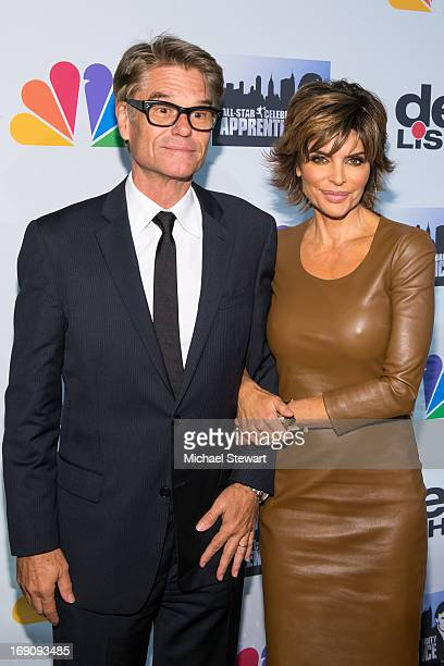f1b5c65e6bb9 Actors Harry Hamlin and Lisa Rinna attend the  All Star Celebrity Apprentice   Finale at