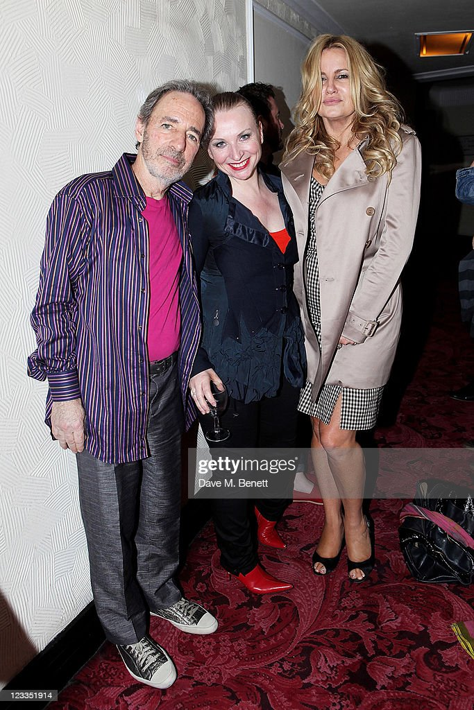 Actors Harry Shearer, Judith Owen and Jennifer Coolidge attend an after party celebrating Press Night of 'Ruby Wax: Losing It' at The Duchess Theatre on September 1, 2011 in London, England.