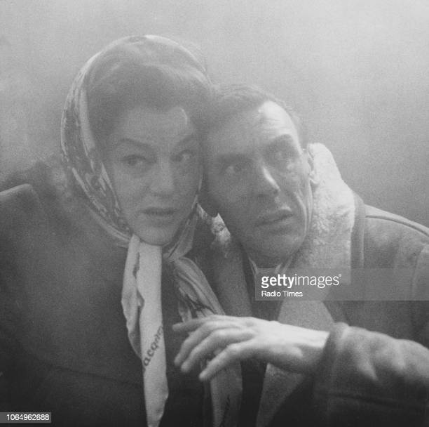 Actors Hattie Jacques and Eric Sykes in a scene from the television sitcom episode 'Sykes and a Fog' January 19th 1963 First printed in Radio Times...