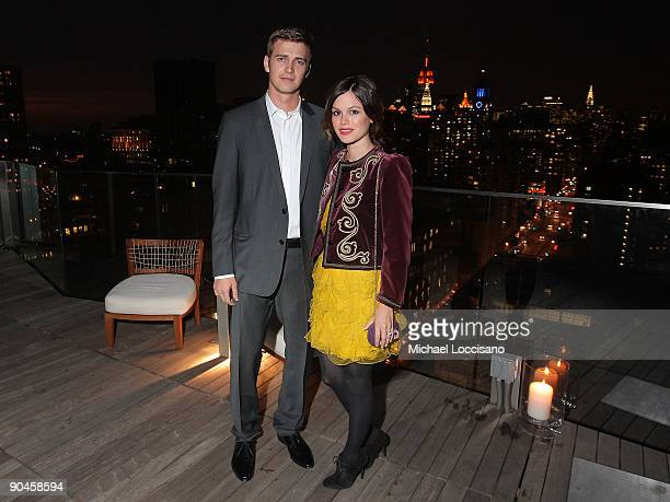 Actors Hayden Christensen and Rachel Bilson attend a cocktail party in honor of designer Kris Van Assche and hosted by GQ Dior Homme at The Cooper...