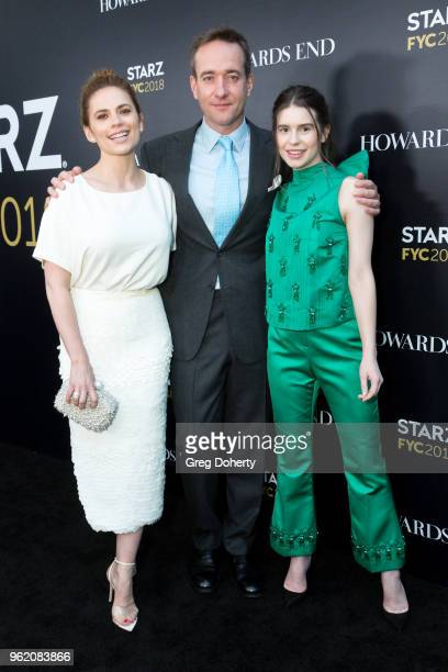 Actors Hayley Atwell Matthew Macfadyen and Philippa Coulthard attend the For Your Consideration Event For Starz's 'Counterpart' And 'Howards End' at...