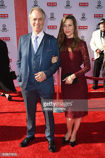 Actors Hayley DuMond and Keith Carradine arrive at TCM Classic Film Festival 2016 Opening Night Gala 40th Anniversary Screening of All The...