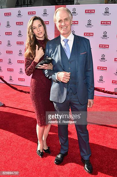 Actors Hayley DuMond and Keith Carradine attend 'All The President's Premiere' during the TCM Classic Film Festival 2016 Opening Night on April 28...