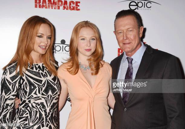 Actors Heather Graham Molly Quinn and Robert Patrick attend the Premiere Of Epic Pictures Releasings' 'Last Rampage' at ArcLight Cinemas on September...